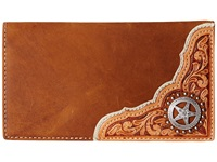 Mandf Western Star Concho Rodeo Wallet Brown Wallet Handbags