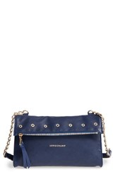 Longchamp Paris Rocks Nylon Foldover Crossbody