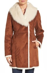 Andrew Marc New York Women's Faux Shearling Coat