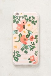 Anthropologie Rifle Paper Co. Iphone 7 Case Peach