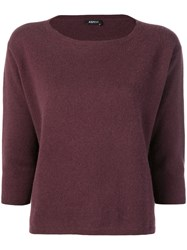 Aspesi Cashmere Jumper Red