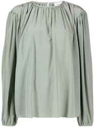 Christophe Lemaire Pleated Front Blouse 60