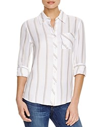Prive Striped Shirt Danielle Stripe
