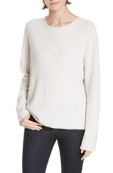 Jenni Kayne Boucle Crewneck Sweater Cloud