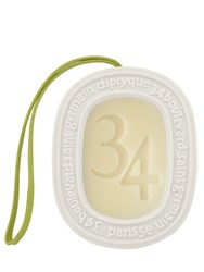 Diptyque 34 Boulevard Saint Germain Scented Oval Transparent
