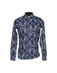 U Ni Ty Unity Shirts Shirts Men Dark Blue