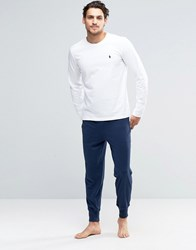 Polo Ralph Lauren Lounge Pants In Slim Fit Black