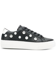 Moa Master Of Arts Faux Pearl Embellished Sneakers Black