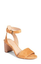 Madewell The Claudia Sandal Amber Brown Suede