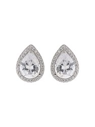 Mikey Sterling Silver 925 Oval Stud Earring N A N A