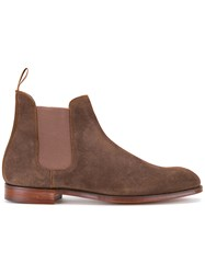 Crockett Jones And Chelsea Boots Brown