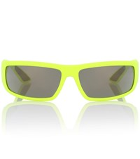 Prada Runway Sunglasses Yellow