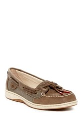 Sperry Dune Fish Boat Shoe Brown