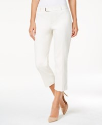 Charter Club Petite Extended Tab Capri Pants Only At Macy's Birch Tree