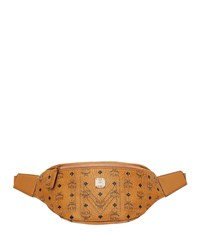 Mcm Stark Gunta Medium Studded Belt Bag Brown