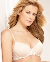 Wacoal Petite Embrace Lace Push Up Bra 75891 Naturally Nude