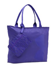 Under Armour Oversized Logo Tote Purple