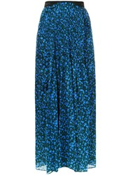 Theatre Products Long Smoked Skirt Blue