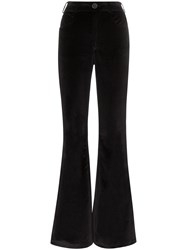 Rockins High Waisted Flared Trousers 60