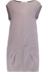 Marni Silk Blend Dress Lilac