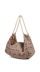 Pilyq Allison Lace Bag Sandstone