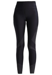 Under Armour Accelerate Tights Black Reflective