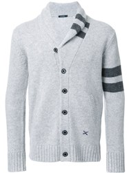 Guild Prime Shawl Lapel Cardigan Grey