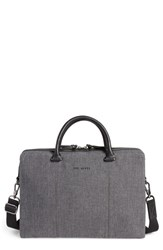 Ted Baker London Citrice Document Briefcase Black Charcoal