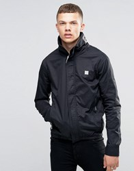Bench Funnel Neck Jacket In Black Black
