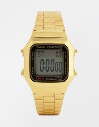 Casio Gold Digital Vintage Style Watch A178wga 1 Gold