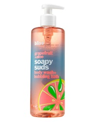 Bliss Grapefruit And Aloe Soapy Suds 16 Oz No Color