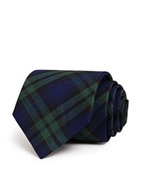 The Men's Store At Bloomingdale's Black Watch Classic Tie Navy