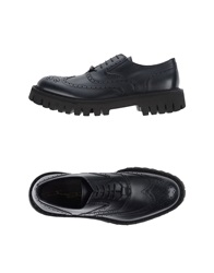 Bruno Bordese Lace Up Shoes Dark Blue