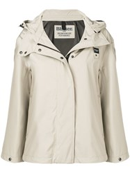 Blauer Boxy Fit Cropped Jacket Neutrals