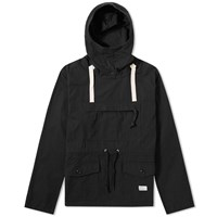 Bedwin And The Heartbreakers Macneil Popover Anorak Black