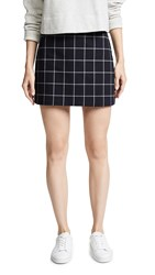 Bailey 44 Bailey44 Alexei Plaid Miniskirt Black