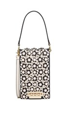 Zac Posen Floral Earthette Party Bag Black Multi