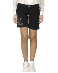 Toy G. Denim Denim Bermudas Women Black