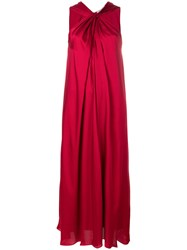 Elizabeth And James Knotted Maxi Dress Red