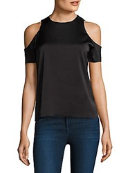 Cooper And Ella Emmy Cold Shoulder Blouse Black