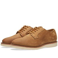 Red Wing Shoes 3120 Heritage Work Postman Oxford Brown
