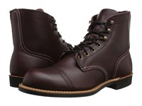 Red Wing Shoes 6 Iron Ranger Lug Oxblood Mesa Men's Lace Up Boots Burgundy
