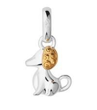 Links Of London Chinese Zodiac Dog Charm Female Yellow Gold