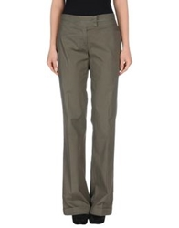 Germano Zama Casual Pants Dark Green
