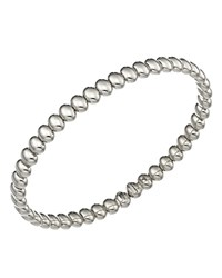 Chimento 18K White Gold Armillas Acqua Collection Bead Link Bracelet