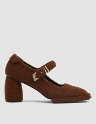 Reike Nen Square Toe Mary Jane Pump In Brown
