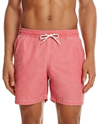 Barbour Victor Swim Trunks Red