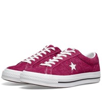 Converse One Star Ox Vintage Suede Pink
