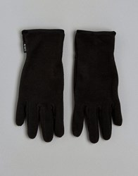 Barts Gloves With Palm Silicone Print Black
