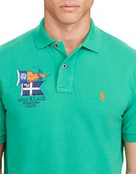 Polo Ralph Lauren Classic Fit Cotton Mesh Victory Green